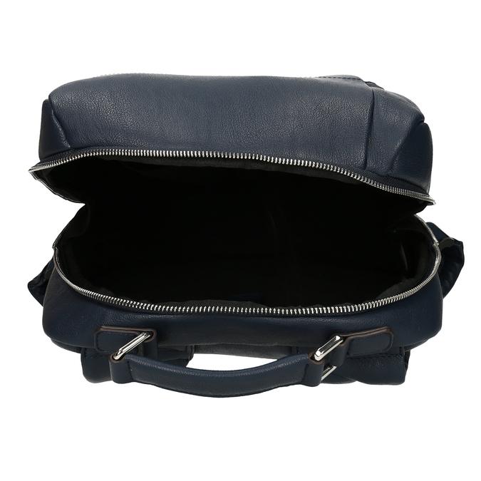 Modrý unisex designový batoh bata, modrá, 961-9777 - 15