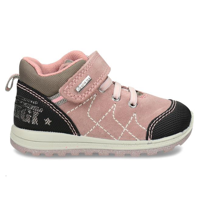Růžová kožené dětská a obuv v outdoorovém stylu primigi, růžová, 123-5622 - 19