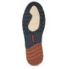 Pánská kožená slip-on obuv hnědá pikolinos, hnědá, 836-4602 - 18