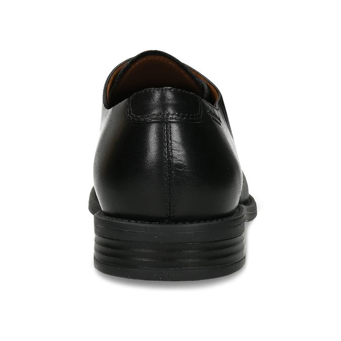 Kožené polobotky Vagabond v derby střihu vagabond, černá, 824-6648 - 15