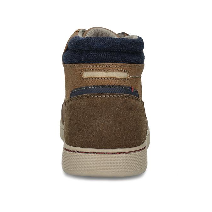 Pánské hnědé kotníkové tenisky bata, hnědá, 841-3659 - 15