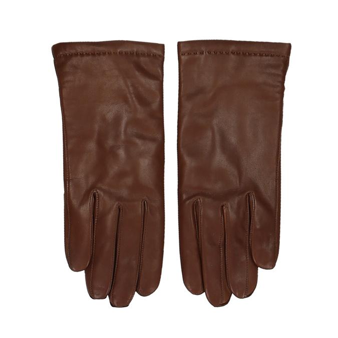 Pánské kožené rukavice v kaštanové barvě junek, hnědá, 944-4105 - 26