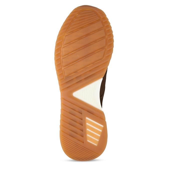 Kožené hnědé pánské tenisky v městském stylu bata, hnědá, 846-3615 - 18