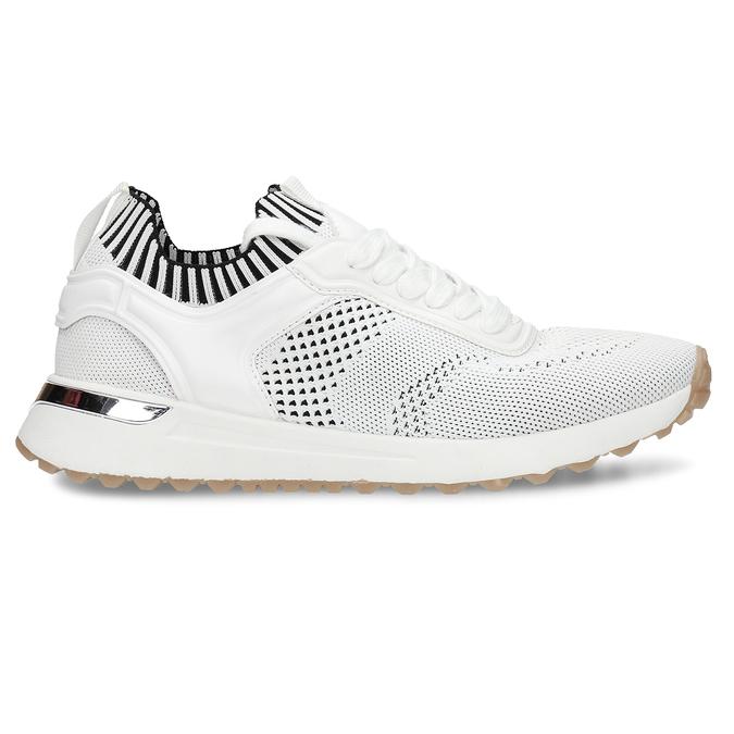 Bílé dámské tenisky bata, bílá, 549-1617 - 19