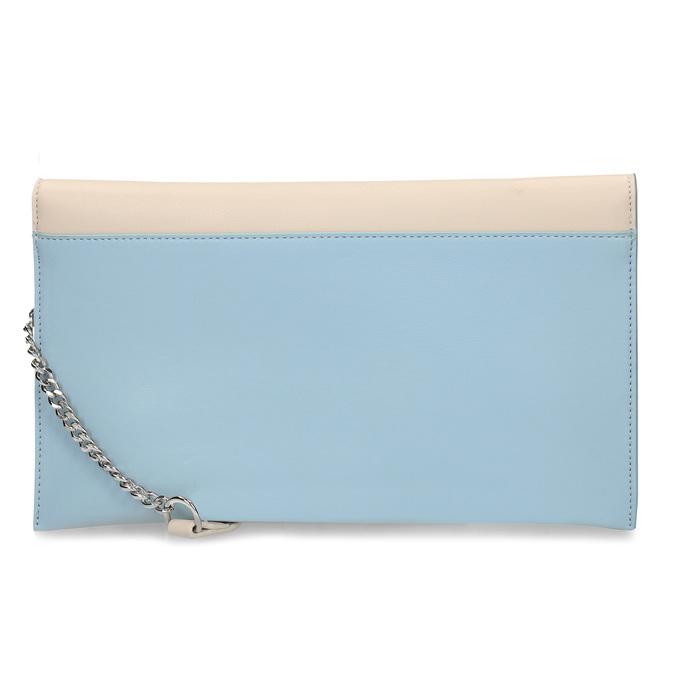 Béžovo-modré dámské psaníčko bata, modrá, 961-0648 - 16