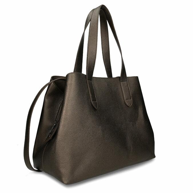Hnědá dámská kabelka přes rameno bata, hnědá, 961-4645 - 13