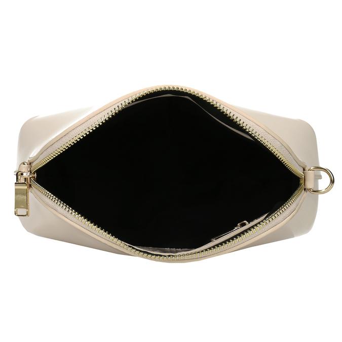 Malá růžová lakovaná kabelka bata, růžová, 961-5641 - 15