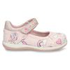 Růžové dívčí sandály na suchý zip bubblegummers, růžová, 121-5600 - 19
