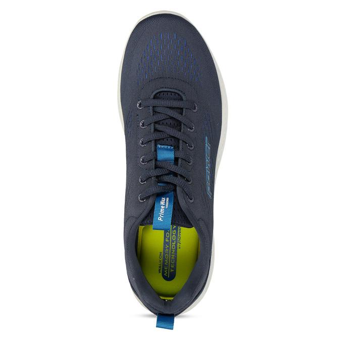 Modré pánské sportovní tenisky power, modrá, 809-9650 - 17