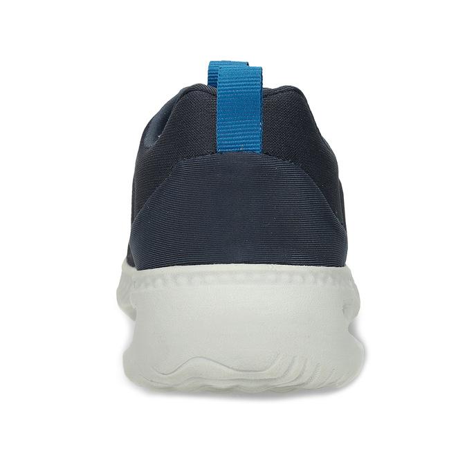 Modré pánské sportovní tenisky power, modrá, 809-9650 - 15
