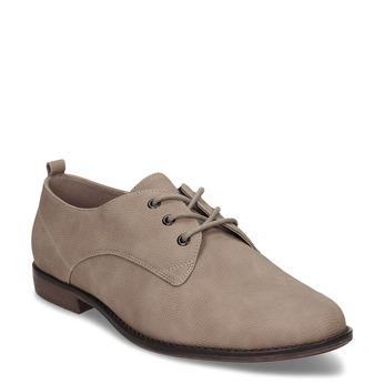 Béžové dámské polobotky bata, béžová, 521-8603 - 13