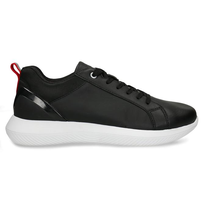 Černé dámské tenisky bata-3d-energy, černá, 541-6622 - 15