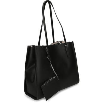 Černá dámská kabelka bata, černá, 961-6893 - 13