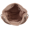 Béžová kožená dámská kabelka bata, béžová, 964-8643 - 15