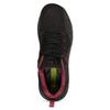 Černé pánské tenisky s barevným žíháním power, černá, 809-6658 - 17