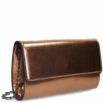 Bronzová dámská crossbody kabelka bata, hnědá, 961-4643 - 13