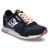 Černé dámské kožené sneakersky s fialovou podešví napapijri, modrá, 543-9602 - 13