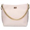 Růžová dámská kabelka se zlatým řetízkem bata, růžová, 961-5625 - 26