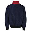 Modrá pánská sportovní bunda s červeným a bílým pruhem bata, modrá, 979-9596 - 26