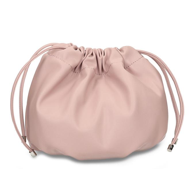 Růžová dámská balonová kabelka s řetízkovým uchem bata, růžová, 961-5776 - 26