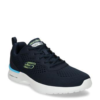 Tmavě modré pánské sportovní tenisky skechers, modrá, 809-9281 - 13