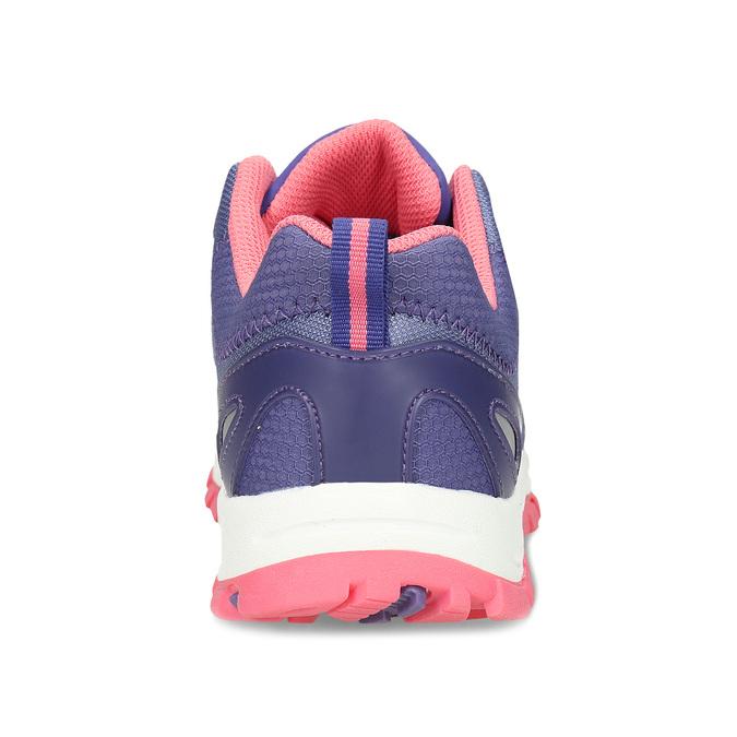 Fialové dětské sportovní sneakersky s růžovou podešví weinbrenner, fialová, 429-9624 - 15