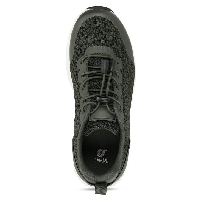 Khaki dětské sportovní tenisky mini-b, khaki, 419-3605 - 17