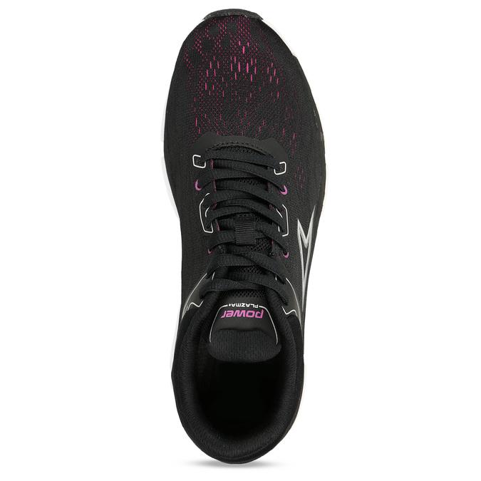 Černé dámské sportovní tenisky power, černá, 509-6620 - 17