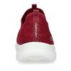 Červené dámské slip-on tenisky s prodyšným svrškem skechers, červená, 509-5612 - 15