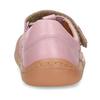 Růžové dětské kožené sandály na suchý zip froddo, růžová, 264-5610 - 15