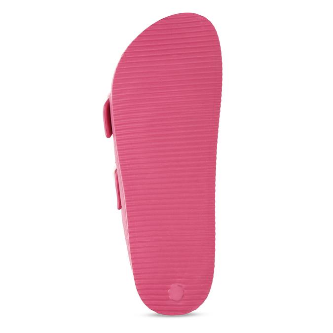 Růžové dámské pantofle bata, růžová, 572-5615 - 18