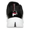 Černé dámské tenisky na robustní podešvi fila, černá, 501-6795 - 15