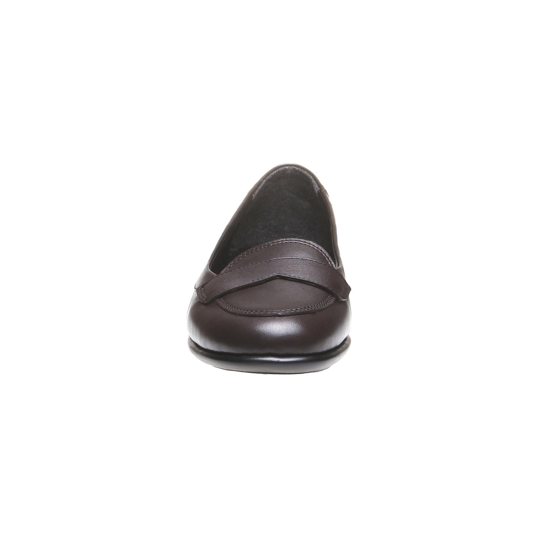 Roxy - nízká obuv bata, hnědá, 2018-514-4123 - 16