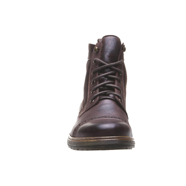 Andrew - kotníčková obuv v Brogue designu bata, 2019-894-4691 - 16