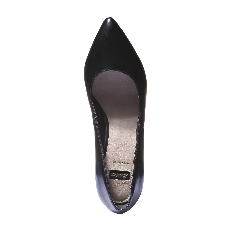 Lodičky na vysokém podpatku bata, černá, 2018-721-6290 - 19