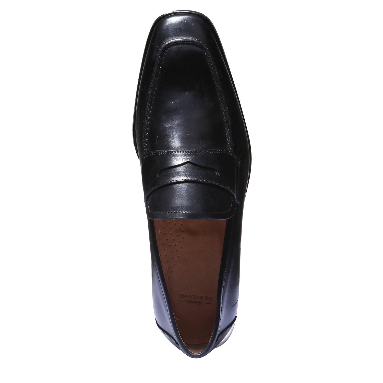 Kožená obuv ve stylu Loafer, 2018-814-6112 - 19