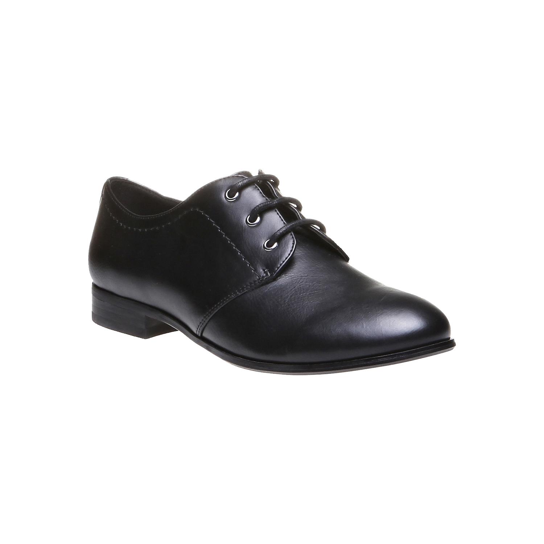 Myra - obuv v Brogue designu bata, černá, 2018-521-6157 - 13