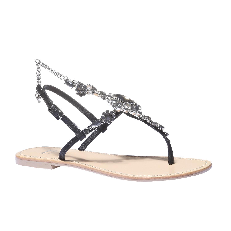 Letní sandály s kamínky bata, 2019-564-6249 - 13