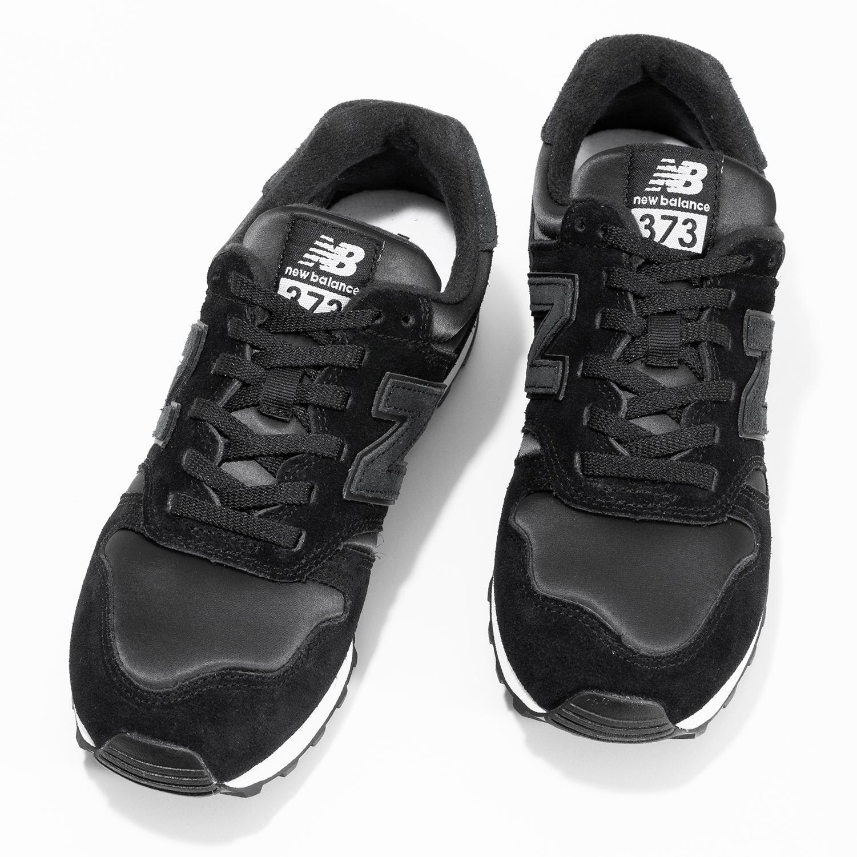 New Balance Dámské černé kožené tenisky - Městský styl  ddadbbbec5